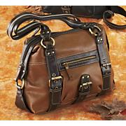 Tumbled Leather Handbag