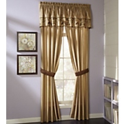 Gold Butterfly Embroidered Window Treatments