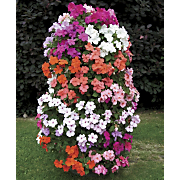 freestanding flower tower