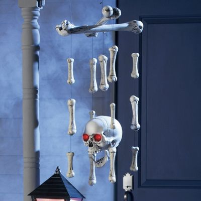 Skull And Crossbones Windchime