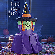6 feet Inflatable Melting Witch