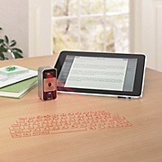 magic cube laser projecting keyboard by celluon