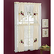 Ambrosia Kitchen Curtains 4 Piece Set