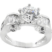 Ring Cubic Zirconia Solitaire