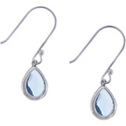 Earrings Blue Teardrop