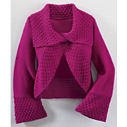 Cardigan Crochet Collar Elise