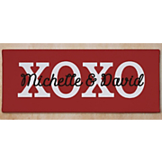 Hugs and Kisses Wall Canvas