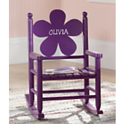 Personalized Daisy Or Heart Rocker