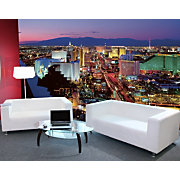 Vegas Lights Wall Mural