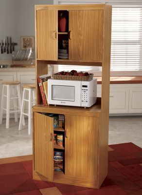Space Solutions Microwave Cabinet 1