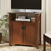 Bedroom Height Mission Tv Stand