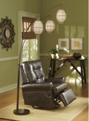 3 Headed Floor Lamp