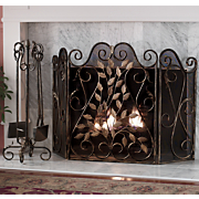 Windamere Fireplace Screen and Tools