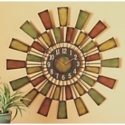 Citrus Burst Wall Clock