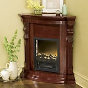Convertible Corner Electric Fireplace