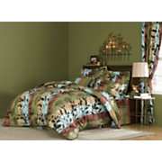 Aspen Silhouette Microfiber Bedding and Window Treatments