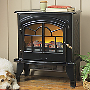 Vintage Style Electric Fireplace