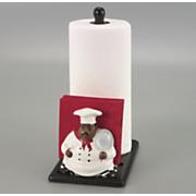Chef Paper Towel Napkin Holder