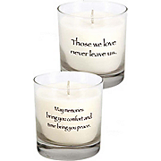 Never Leave Us Candle