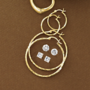 4 Pair Earring Set