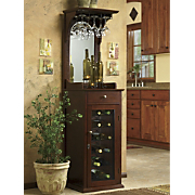Locking Wine Cabinet
