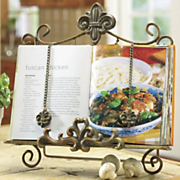 Fleur De Lis Cookbook Holder