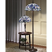 Shades Of Beauty Multicolored Stained Glass Floor Lamp A