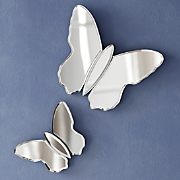 Butterfly Mirrors Set Of 2