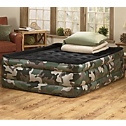 Limited Edition Raised Queen Camo Airbed