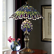 Birds of A Feather Stained Glass Table Lamp