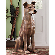 Manfred Dog Statue