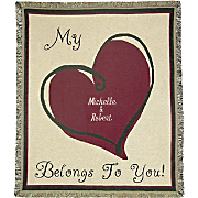 Throw My Heart Belongs to You Personalized