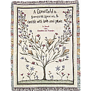 Throw Grandchild Tree Personalized