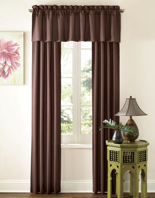 Thermal Rod Pocket Panels And Valance A
