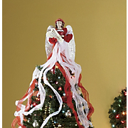 Tree Topper Ribbon Angel