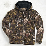 Fleece Jacket Deer Z