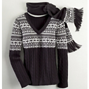 Sweater and Scarf Set Nordic