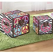 Peace Trunks Set Of 2