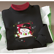 Sweatshirt Frosty Portrait