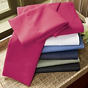 250 thread Count Cotton Blend Percale Sheet Set