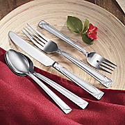 20 pc Crossroad Sand Flatware By Cambridge Silversmiths