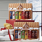 7 piece Gingerbread Man Shower Gel And Lotion Sets