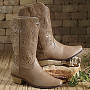 Embroidered Cowgirl Boot By Freshica