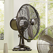 Bronze Table Fan By Hunter