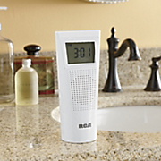 Splash resistant Clock Radio