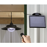 Hanging Solar Outbuilding Light By Nature Power
