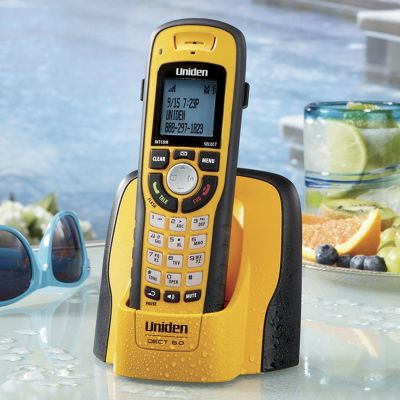 Waterproof Cordless Phone By Uniden