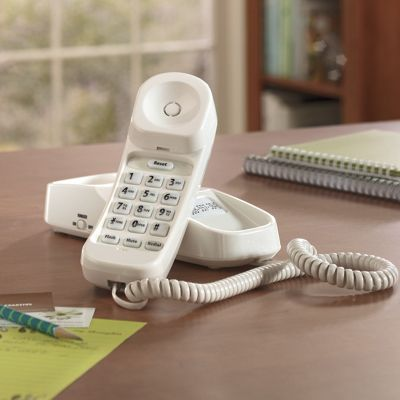 Loud and Clear Slim Line Phone By Uniden T coil Hearing Aid Friendly