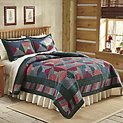 Prairie Cabin Quilt And Sham
