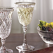 set of 4 jewelite wine glasses